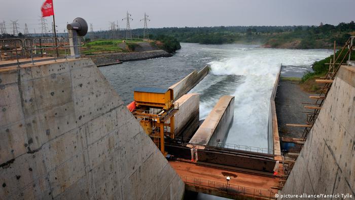 Bujagali dam in Uganda