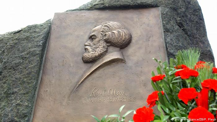 Karl Marx memorial in Fürstenwalde (picture-alliance/ZB/P. Pleul)