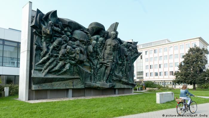 Karl Marx relief in Leipzig (picture-alliance/dpa/P. Endig)