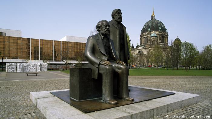 Marx-Engels Forum in Berlin