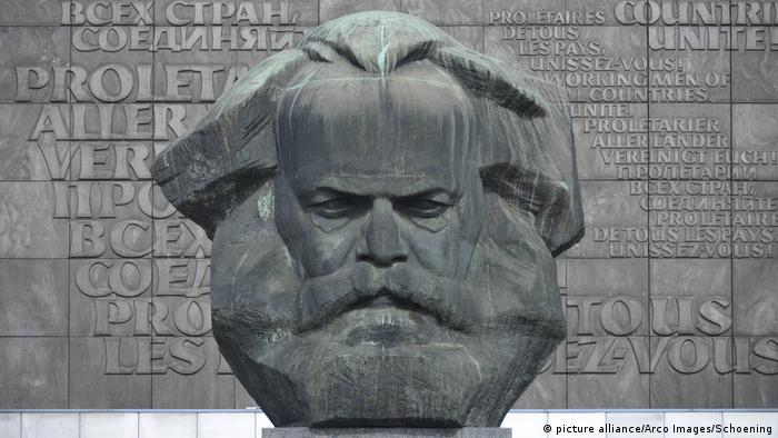 Karl Marx monument in Chemnitz (picture alliance/Arco Images/Schoening)