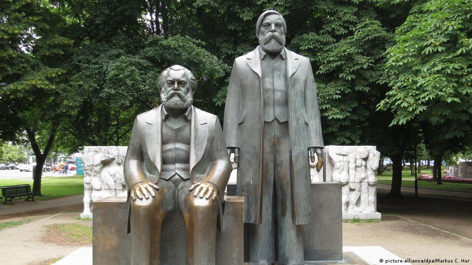 Marx-Engels-Forum in Berlin
