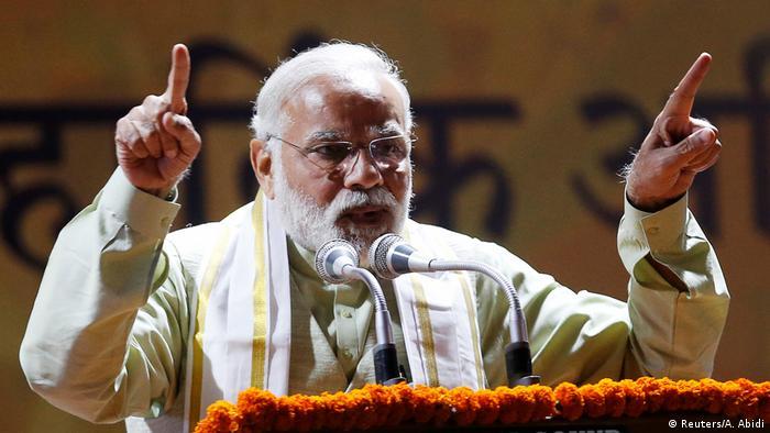 Indien Narendra Modi in Neu-Delhi (Reuters/A. Abidi)