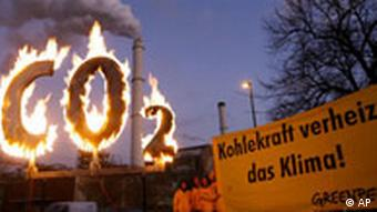 Greenpeace protest against coal power in Berlin