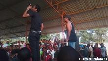 Motiv: Mehr als 400 Konzertbesucher beim Auftritt des Rap-Duos Ikopongo am 12.03.2017 in der angolanischen Stadt Viana Aufnahmedatum: 12.03.2017 Fotograf: Borralho Ndomba