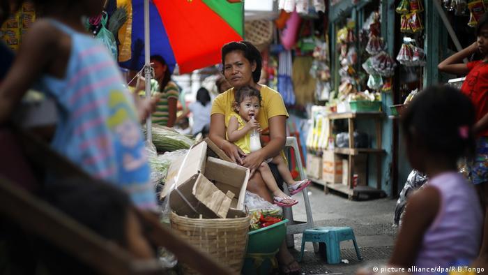 Philippinen Geburtenkontrolle Mutter und Kind