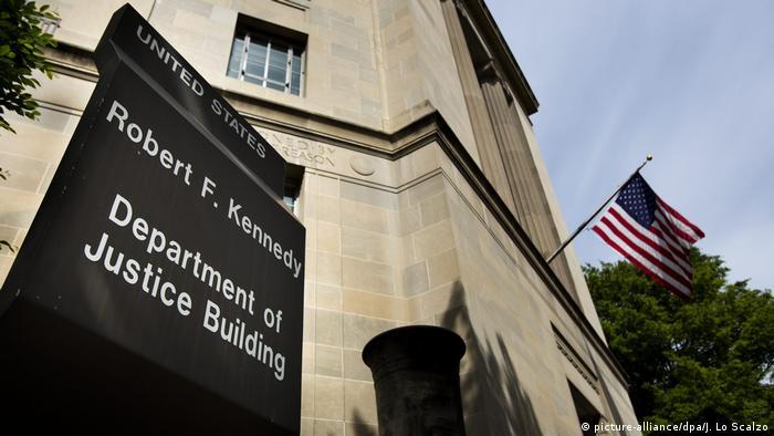 здание Минюста США в Вашингтоне