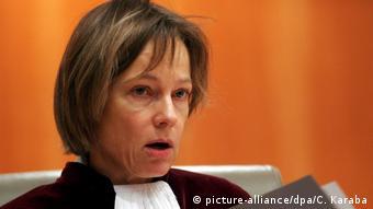 Generalanwältin beim Europäischen Gerichtshof Juliane Kokott