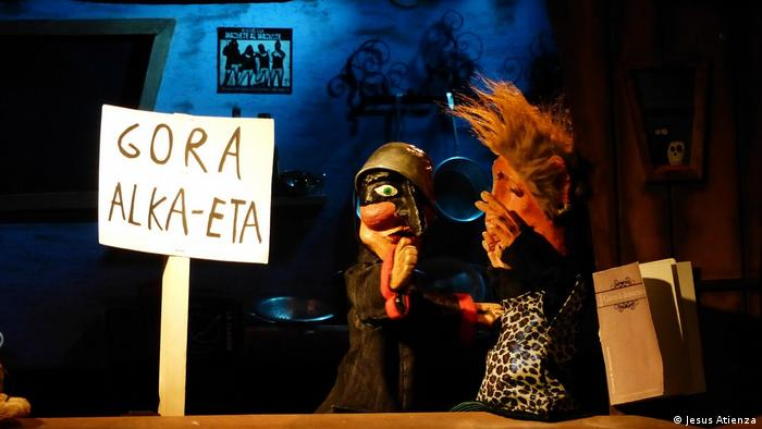 Zensur-Kampagne in Spanien - Puppentheater