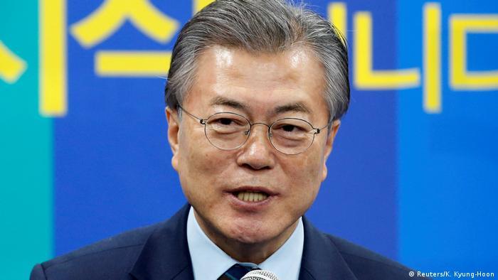 South Korea's Moon Jae-In (Reuters/K. Kyung-Hoon)