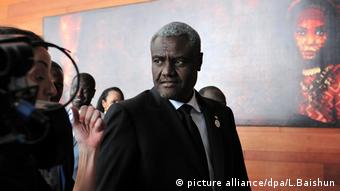 Moussa Faki Mahamat Addis Abeba (picture alliance/dpa/L.Baishun)