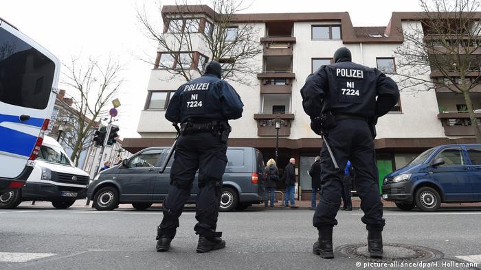 Police raid in Hildesheim