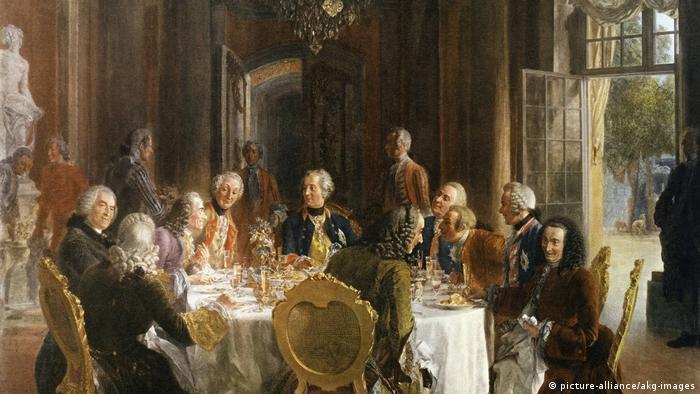 Адольф фон Менцель, Круглый стол Фридриха Великого