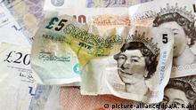 England Währung Britische Pfund