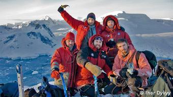 Українські дослідники в Антарктиді