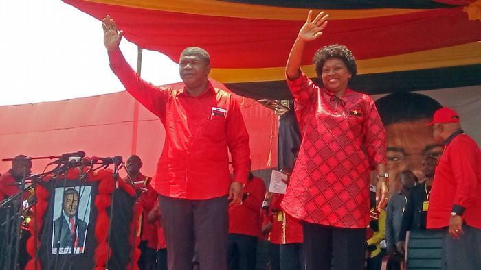 Angola Wahlkampf Joao Lourenco MPLA