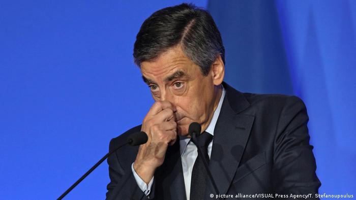 Frankreich Francois Fillon (picture alliance/VISUAL Press Agency/T. Stefanoupoulus)