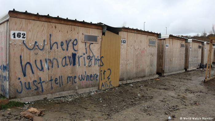 Frankreich Flüchtlings-Camp in Dunkirchen
