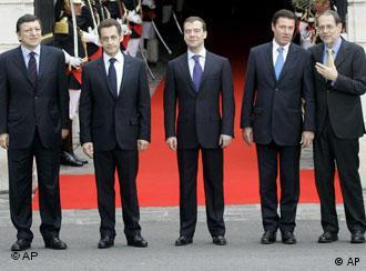 Medvedev and EU leaders