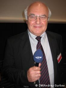 Martin Herrenknecht, der Herr der Bohrer (Foto: DW)