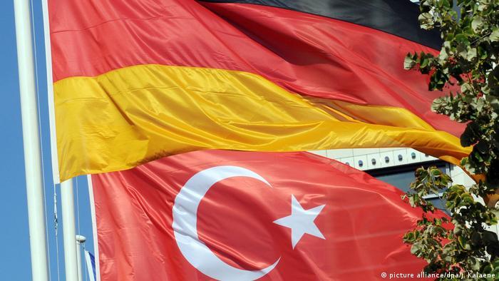 Немецкий и турецкий флаги