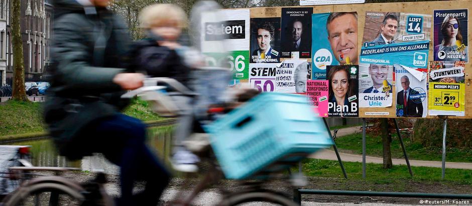 Eleitores holandeses foram às urnas em 15 março
