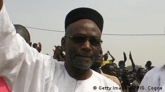 Chadian opposition leader Saleh Kebzabo