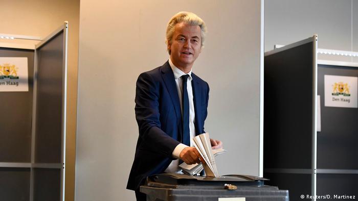 Niederlande Wahl Geert Wilders