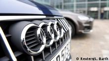 15.03.2017+++ Audi cars are parked in front of the company's headquarters in Ingolstadt, Germany, March 15, 2017. REUTERS/Lukas Barth