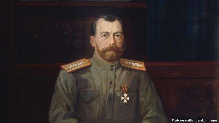Портрет Николая II кисти Николая Шестерикова