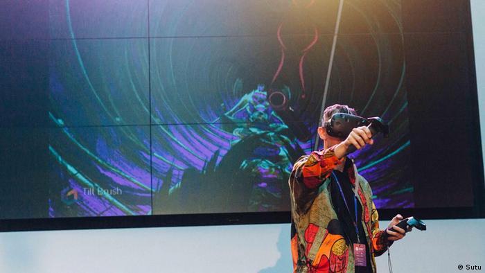 VR artist Stuart Campbell (Sutu)