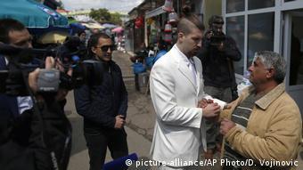 Πάντα στα λευκά ντυμένος ο Λούκα Μαξίμοβιτς