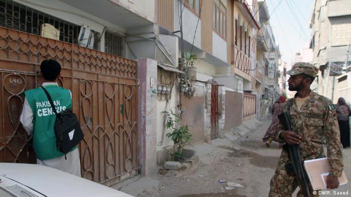 Pakistan Präsident Mamnoon Hussain eröffnet Volkszählung
