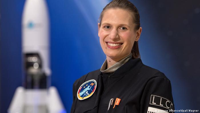 Lisa Marie Haas Astronautin (picture alliance/dpa/I.Wagner)