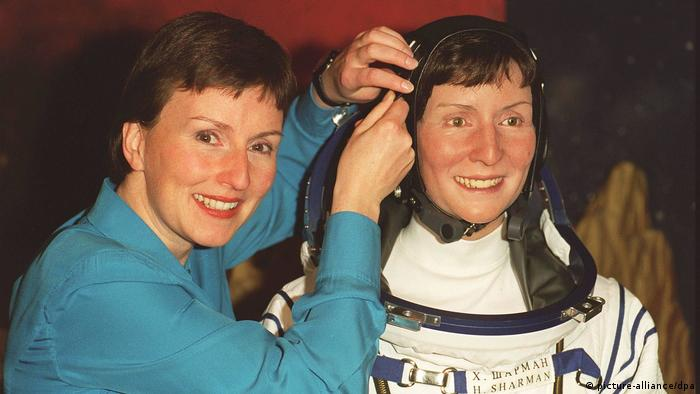 Helen Sharman Wachsfigur British Astronaut... (picture-alliance/dpa)