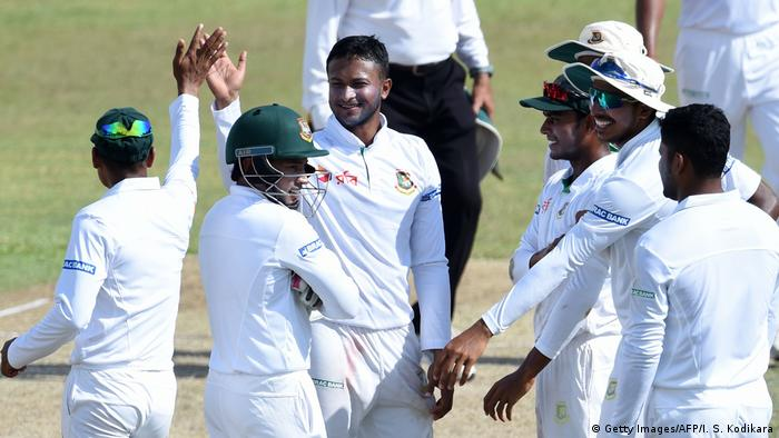 Sri Lanka und Bangladesch | Cricket (Getty Images/AFP/I. S. Kodikara)