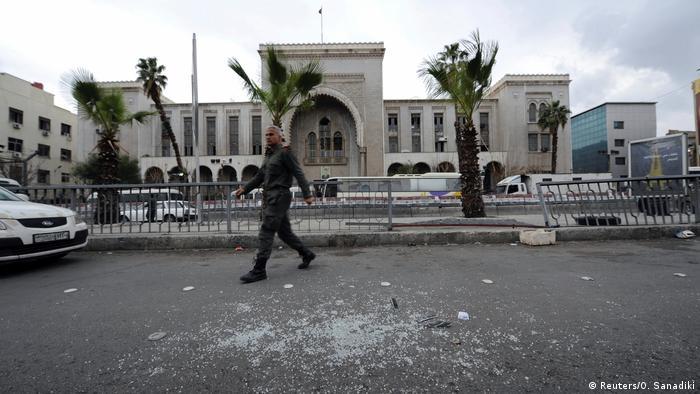 Syrien Anschlag in Damaskus im Alten Justizpalast (Reuters/O. Sanadiki)