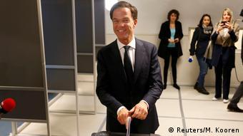 Niederlande Wahl   Mark Rutte, Premierminister