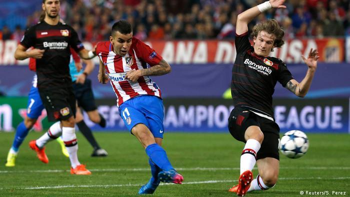 Spanien Atletico Madrid gegen Bayer Leverkusen