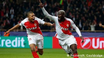 Frankreich Monaco gegen Manchester City