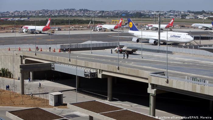 Brasilien Flughafen Guarulhos in Sao Paulo