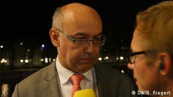 Niederlande Eddy Habben Jansen in Den Haag (DW/B. Riegert)
