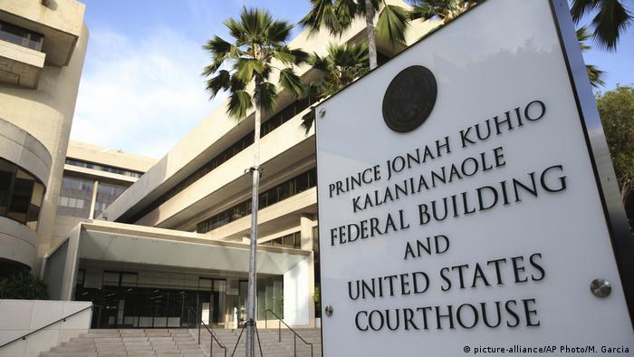 USA Gericht auf Hawaii stoppt Trumps Einreiseverbot (picture-alliance/AP Photo/M. Garcia)