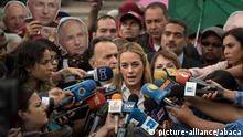 Venezuela Lilian Tintori in Caracas