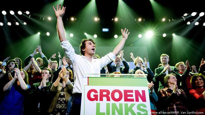 Niderlande Wahl Jesse Klaver von Grün Links (picture-alliance/ANP/R. Van Lonkhuijsen)