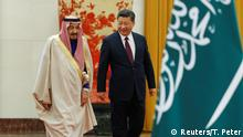 China Xi Jinping and Salman ibn Abd al-Aziz