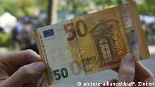 A 50-euro note (picture-alliance/dpa/P. Zinken)