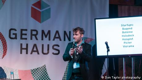 Michael Ronen von Viorama auf der Digitalmesse South By Southwest Interactive (Dan Taylor photography)