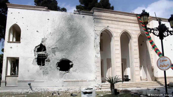 Libyen Kämpfe in Tripoli (Reuters/H. Amara)