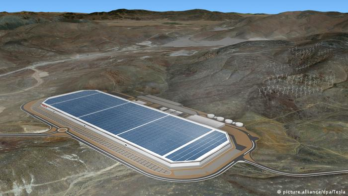 Tesla's Gigafactory in Nevada